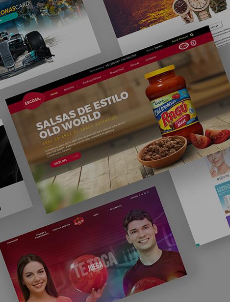 Diseño y <span>Desarrollo Web<span>