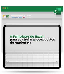 Plantillas de Excel para el control de Presupuestos de Marketing